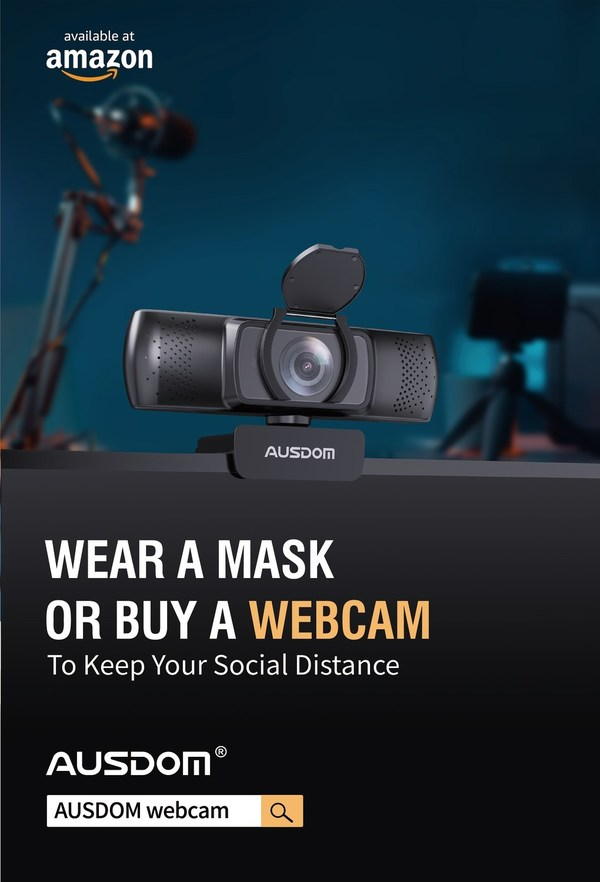 AUSDOM Business Webcam Provides Solution for Global Transition to Telecommuting
