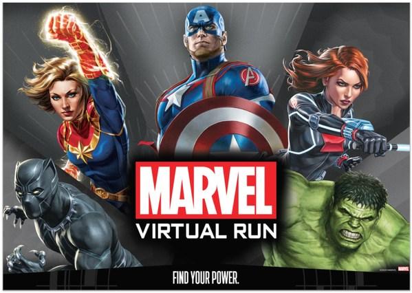 Khám phá sức mạnh của bạn với Giải chạy MARVEL Virtual Run đầu tiên ở Đông Nam Á
