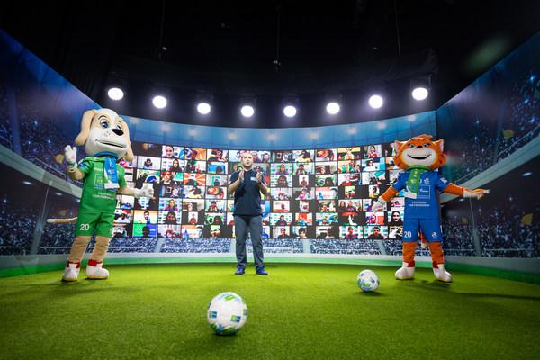 俄罗斯天然气工业股份公司国际儿童社交项目集结了100多个国家儿童