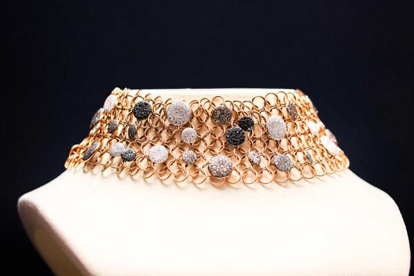 【Pomellaot宝曼兰朵La Gioia高级珠宝Sabbia系列颈链】