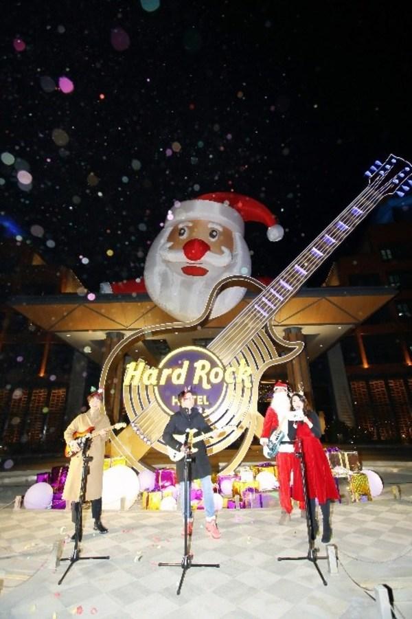 摇滚与浪漫的碰撞,大连硬石酒店开启英伦圣诞之旅