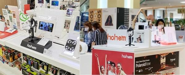 Hohem Gimbal, 다케시마야및 빅 카메라와 제휴