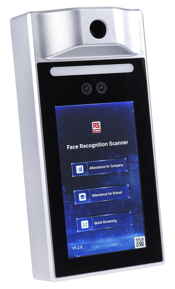 欧时电子(RS)自有品牌RS PRO推出人脸识别测温门禁系统