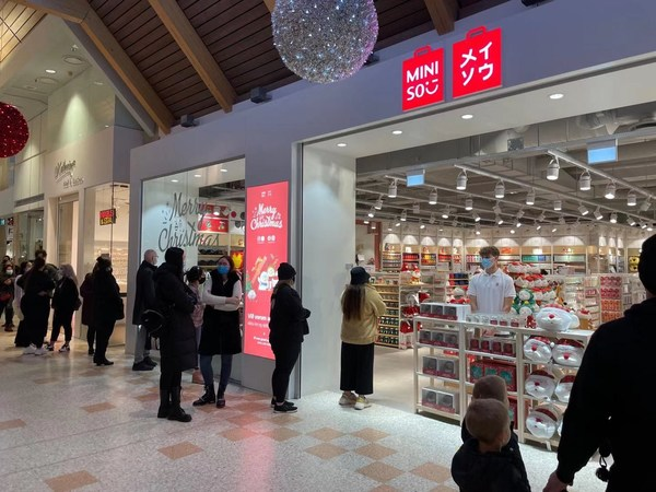 MINISO Opens First Store in Iceland, Entering the Northern European Market