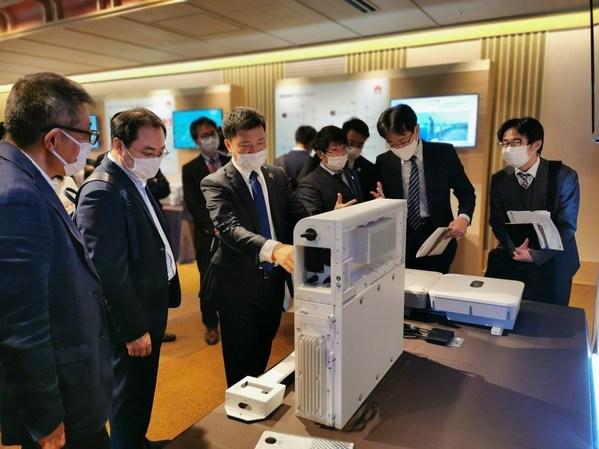 エネルギーデジタル化に先駆け、ファーウェイは日本で初のデジタル・エネルギー製品の各地巡回展示