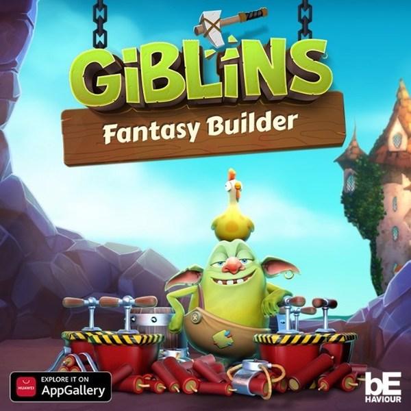 AppGalleryで今日からGiblins™ Fantasy Builderを最初にプレーできるHuaweiユーザー