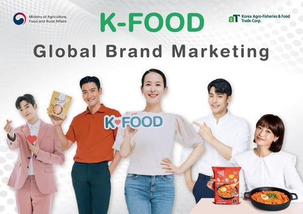 aT thúc đẩy xuất khẩu nông sản Hàn Quốc qua chiến dịch tiếp thị có sự góp mặt của các ngôi sao nổi tiếng