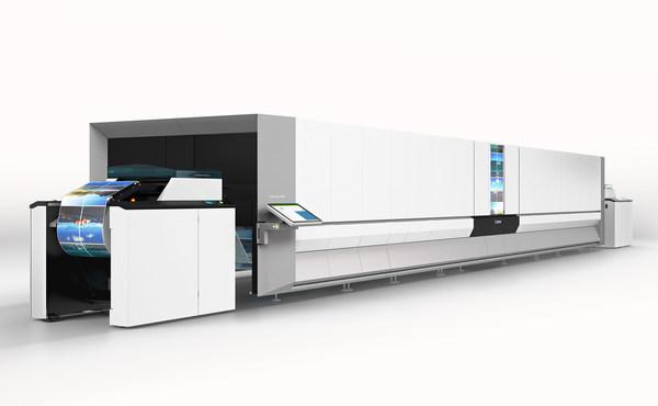 4. 佳能彩色喷墨数码印刷系统ProStream 1000系列凭借先进的数码印刷技术,以出色及多样化的输出,配合自动化流程,助力客户向工业4.0迈进,优化其营运模式并加速业务发展,创造更多可能。