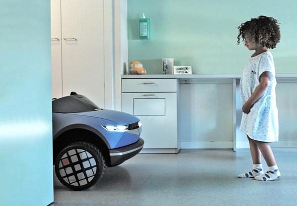 Hyundai Motor's Mini '45' EV Puts Emotions in Motion