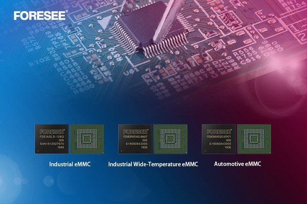 Longsys Launches FORESEE Industrial/Automotive Grade eMMC Products to Empower the Automotive Electronics Market