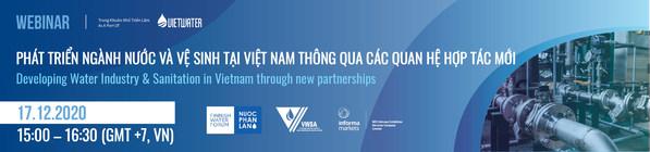 Informa Markets Vietnam, Hội Cấp thoát nước Việt Nam và Diễn đàn nước Phần Lan tổ chức Hội thảo trực tuyến