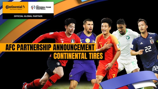 AFC and Continental Tires Announce Renewal of Sponsorship Rights Deal