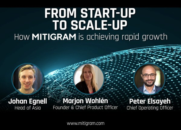 From Start-up to Scale-up: the story of Mitigram