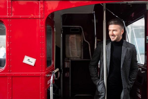 澳門金沙度假區全球品牌大使碧咸將一切他至愛的倫敦元素帶到澳門倫敦人。