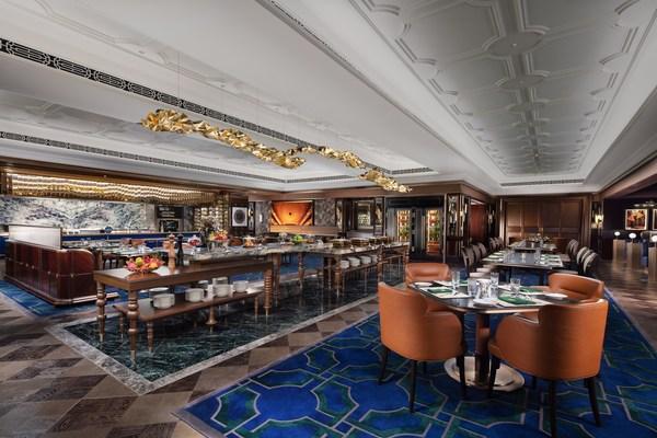 華庭為澳門倫敦人酒店賓客提供專屬會所的獨特英式體驗。
