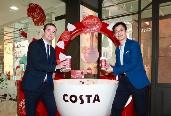 咖世家咖啡与瑞士莲首度跨界合作,联名快闪店限时呈现