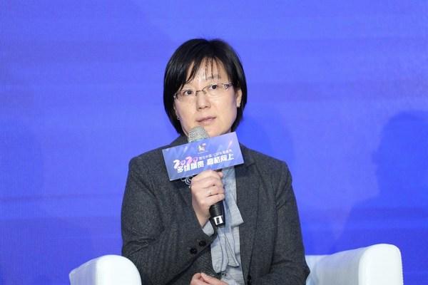 SGS中国区可持续发展技术负责人刘秀萍在圆桌沙龙环节发言