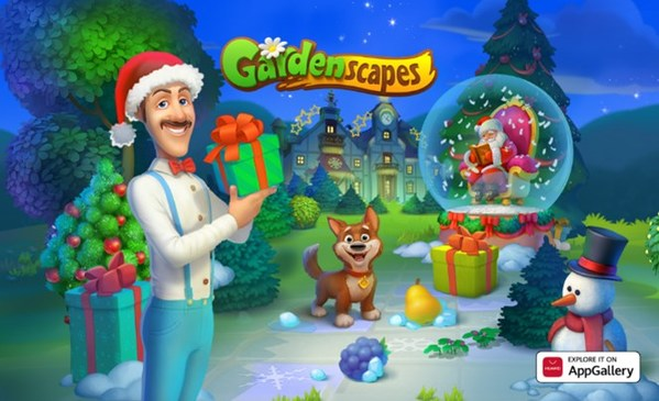 Jump into the Lively World of Gardenscapes on AppGallery Today