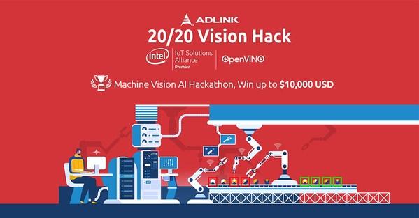20/20 Vision Hack: 凌华科技与英特尔合作寻求机器视觉技术创新