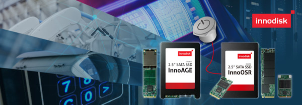Innodisk Lands IoT Devices with Powerful Recovery Technique Portfolio