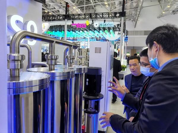 """""""硬核""""技术助力内循环,迈淩S9开启透析水处理智能化时代"""
