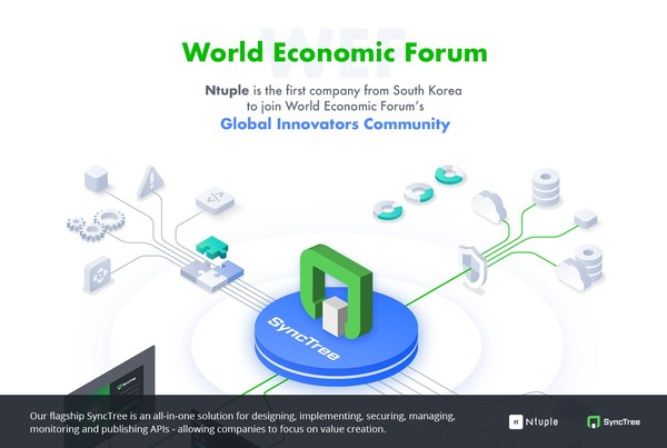 World Economic Forum Welcomes Ntuple, and its patented technology SyncTree, into the Global Innovators Community