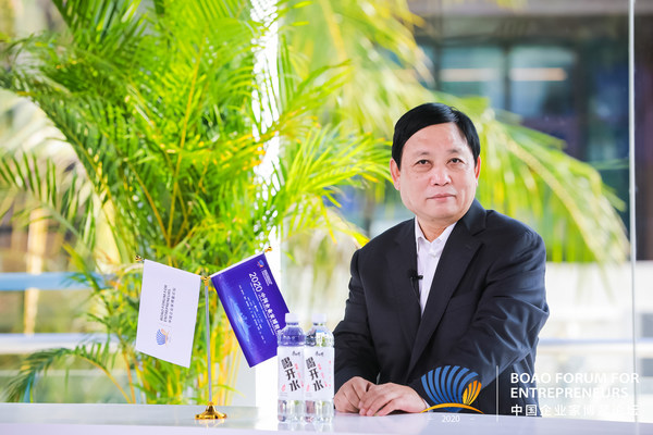 Xinhua Silk Road: China's new dev. pattern, entrepreneurship reinforce each other: chairman with Chinese liquor maker Fenjiu Group