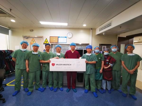 重大突破:DragonFly-T™中国大陆首例经导管三尖瓣修复手术成功