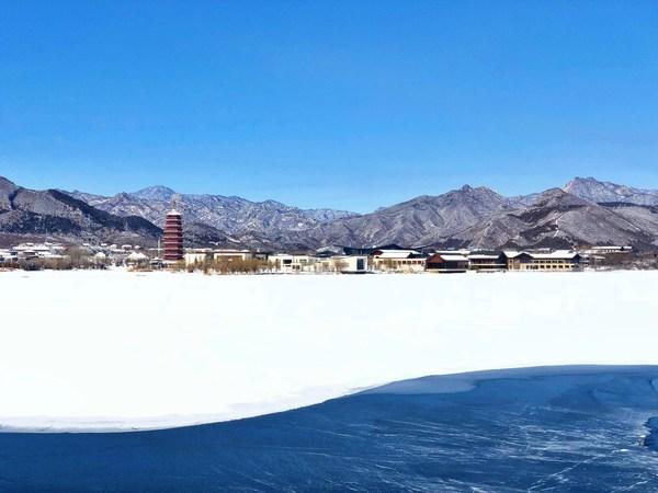 冬日雁栖岛