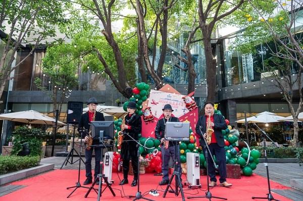 上海市华侨基金会X上海虹桥祥源希尔顿酒店2020圣诞慈善市集开幕