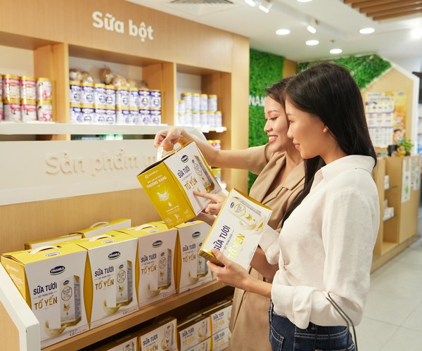 Vinamilk是过去8年中乳制品和乳制品替代品中最受消费者欢迎的品牌(来源:凯度消费者指数Kantar Worldpanel)