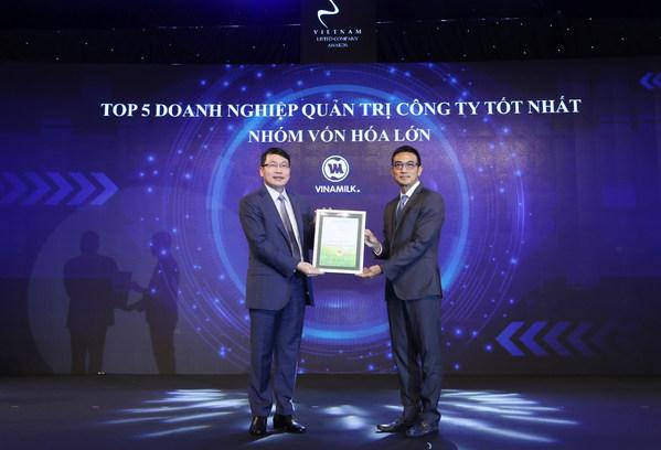 Vinamilk評為「越南上市公司最佳管理企業」及獲「東盟優質資產」