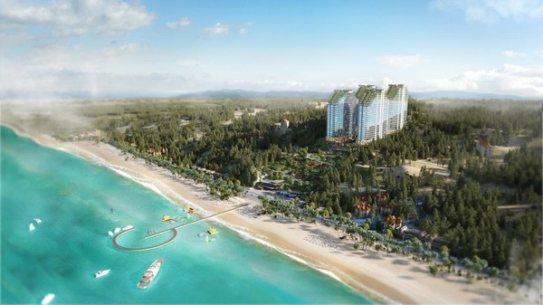 Apec Mandala Wyndham Mui Ne酒店建成后将跻身亚洲最大酒店行列