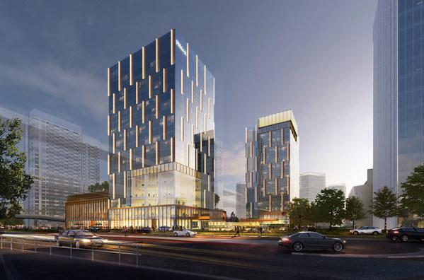深圳国际会展中心希尔顿花园酒店正式亮相粤港澳大湾区核心地段