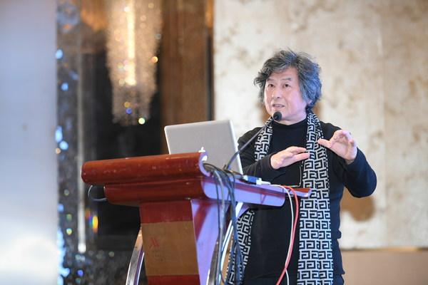 华中科技大学建筑与城市规划学院教授、博士生导师李保峰先生发表演讲