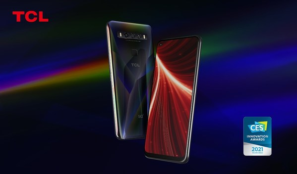 TCL 10 5G UW Named As CES 2021 Innovation Awards Honoree