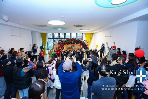 汇聚多元文化,点亮公益爱心 深圳国王学校举办冬日圣诞庆典