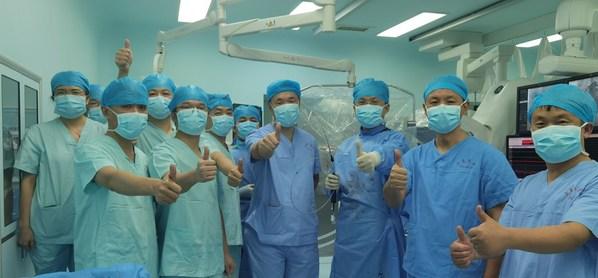中国自主研发-亚洲首例脉冲房颤消融(PFA)手术成功完成