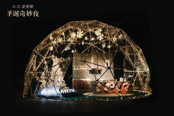 """A.O.史密斯圣诞快闪Show  """"零感厨房""""魔法水晶球空降南京"""