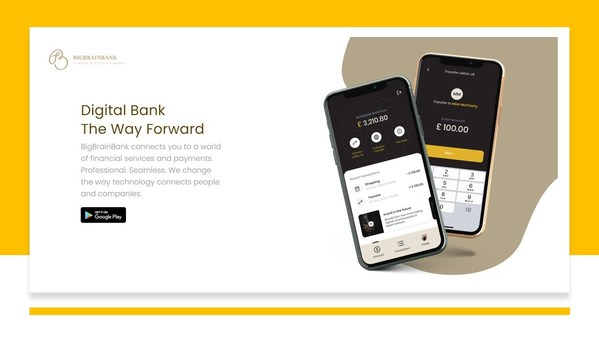 BigBrainBank數字銀行,計劃顛覆金融經紀交易系統。其利用系統性合作夥伴關係,通過一款安全、可靠、無縫銜接的集成應用,率先推出更快、更高效的數字支付、匯款和借貸服務。