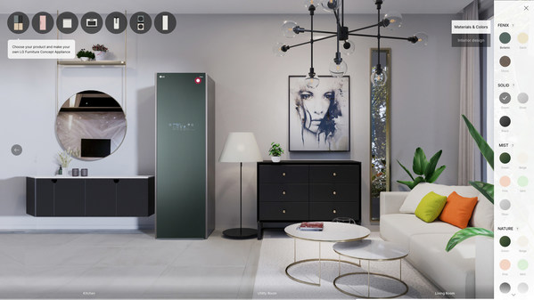 LG Introduces Designer Appliances at CES 2021, Business ...