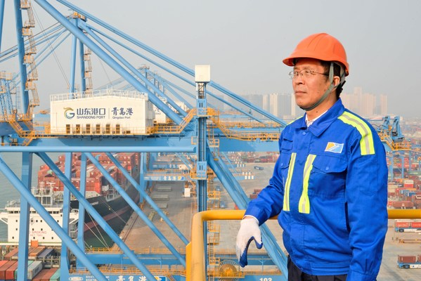 山東省港グループ青島港「連鋼創新チーム」が開発した工業用インターネットシステムは埠頭稼働に成功した事例