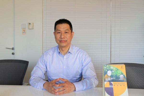 科利耳公司大中华区总经理 李新宇 (艾丽 摄)