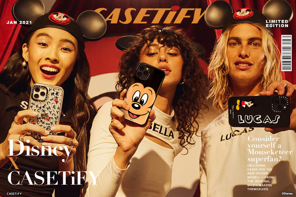 CASETiFY Joins Forces with Disney for a Magical Collection