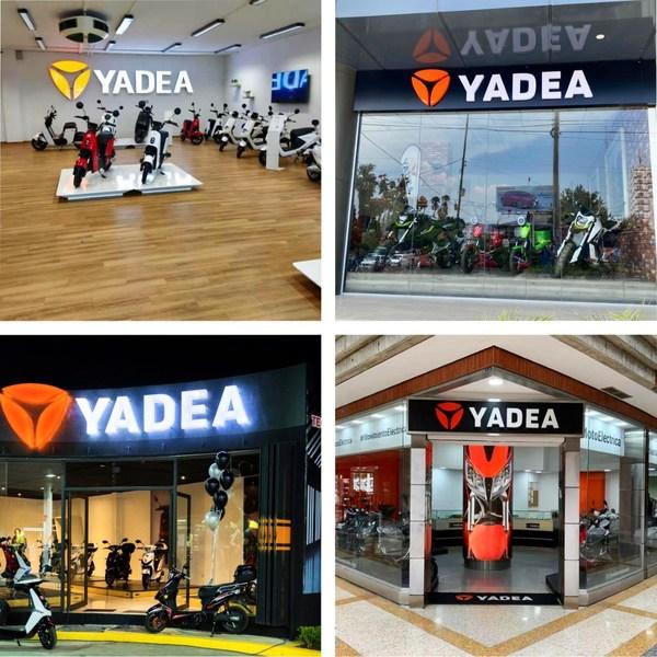 Cửa hàng khuôn mẫu toàn cầu của Yadea