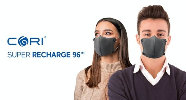 CORI Innolab Launches CORI Super Recharge 96(TM): Rechargeable Super Mask on Kickstarter