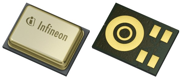 Infineon takes lead in MEMS microphone market, launches new technologies for further improved acoustical performance and power consumption
