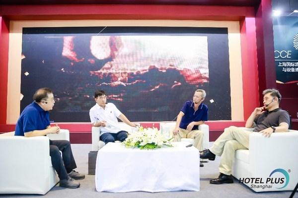 中国清洁众言堂 展会现场 嘉宾讨论