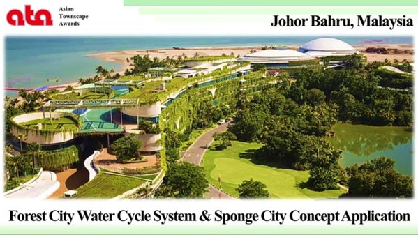 Country Garden Forest City once again bagged the 2020 Asian Townscape Jury's Award