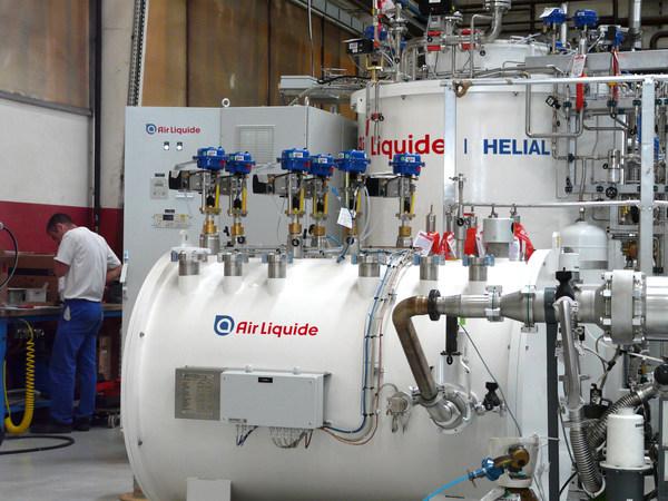 液化空气氦制冷系统